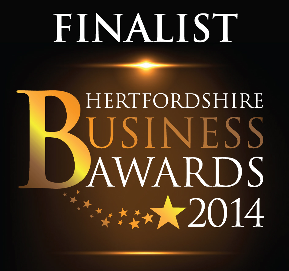 Finalist Hertfordshire Business Awards 2014
