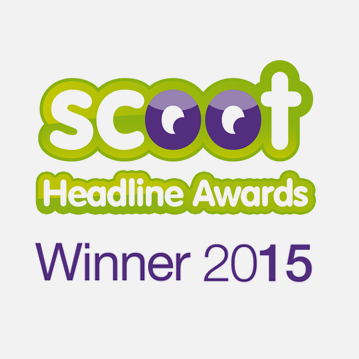Scoot Headline Awards Winner