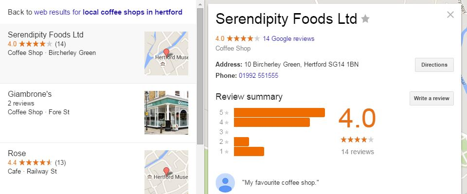 Third tip on maximizing for local SEO