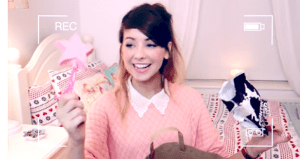 Video Advertising with Zoella