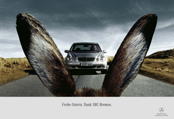 Mercedes' Eater Marketing Campagin