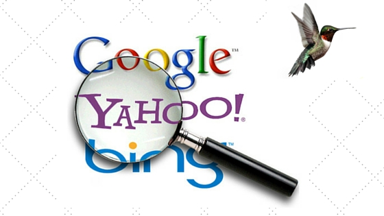 Search Engines - Google, Yahoo, Bing