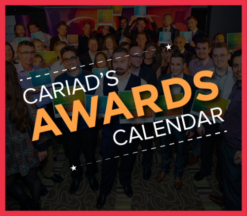 Cariad Awards Calendar