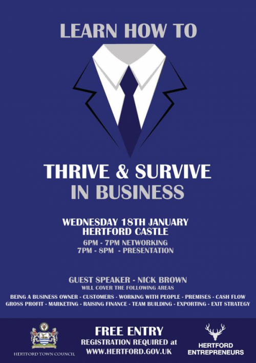 Learn How To Thrive & Survive in Business
