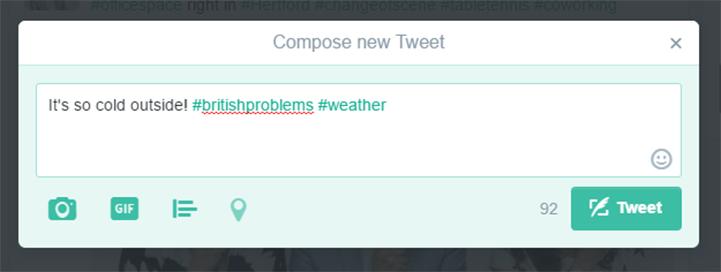 twitter compose tweet