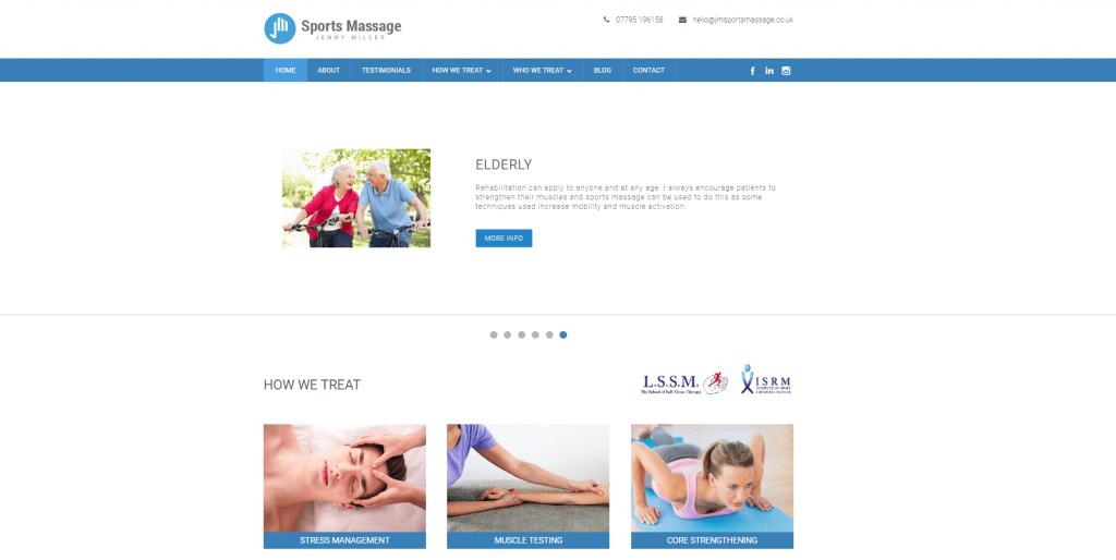 JMSports Massage