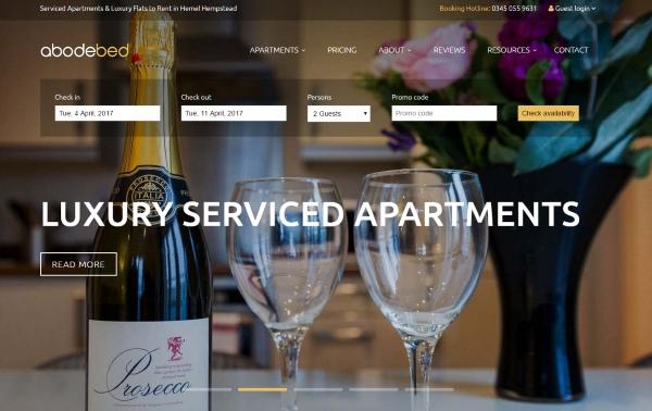 Abodebed Serviced Apartments Hemel Hempstead