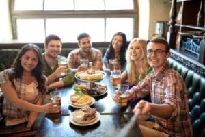 Successful British pub