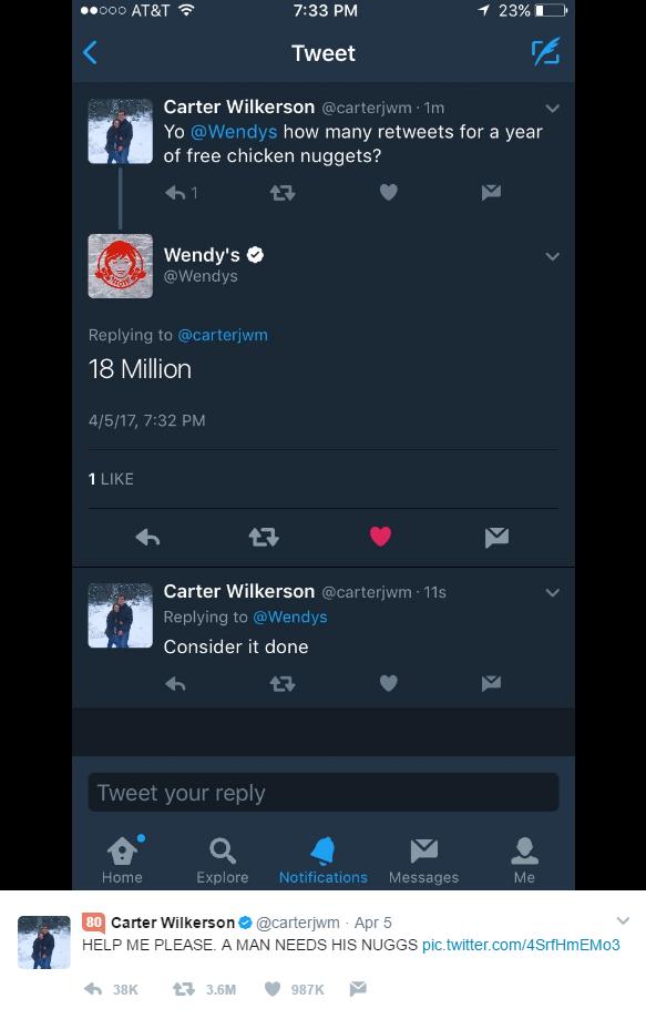 Twitter Wendys