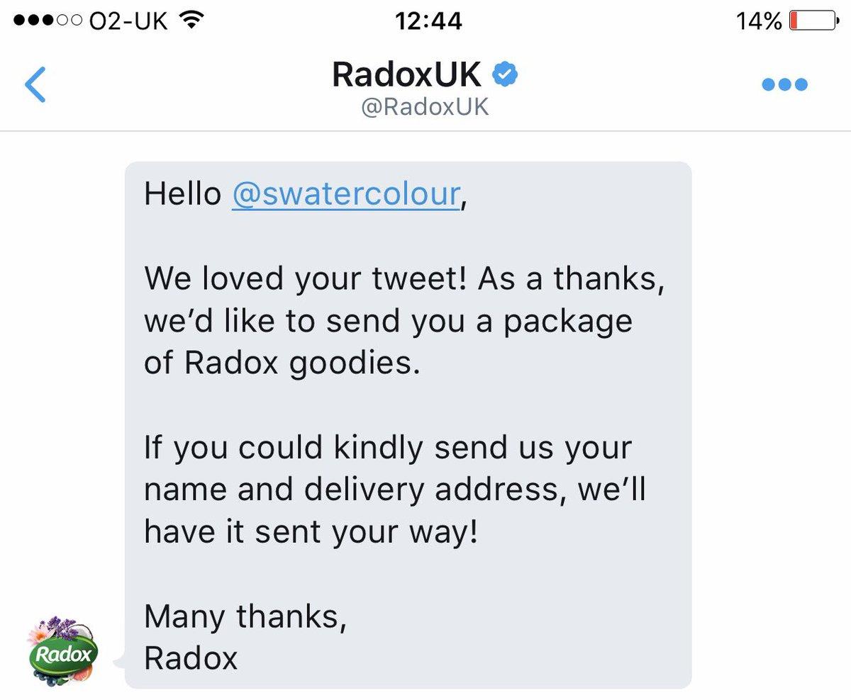 Twitter Radox