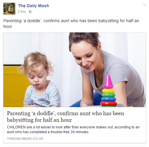 The Daily Mash Facebook