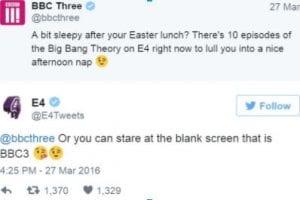BBC Three Twitter