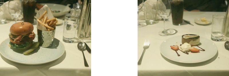 Food at Marriott Hotel
