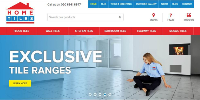 Home Tiles Web Design