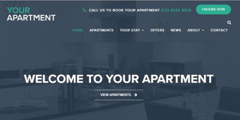 Your Apartment Website Design