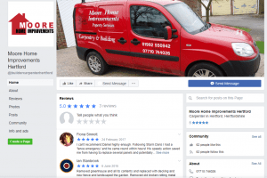 Moore home improvements hertford Facebook page