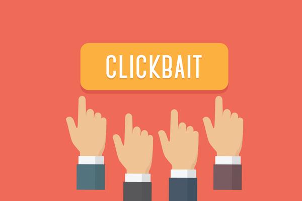 Clickbait, fake news & social media