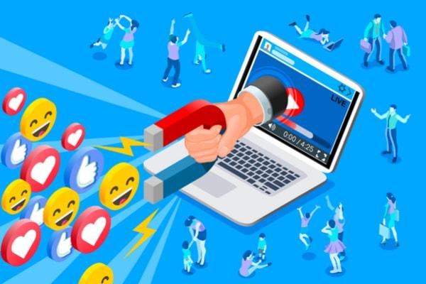 lead generation, social media