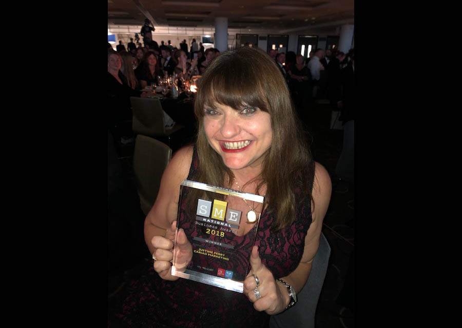 justine perry sme national business award winner 2018