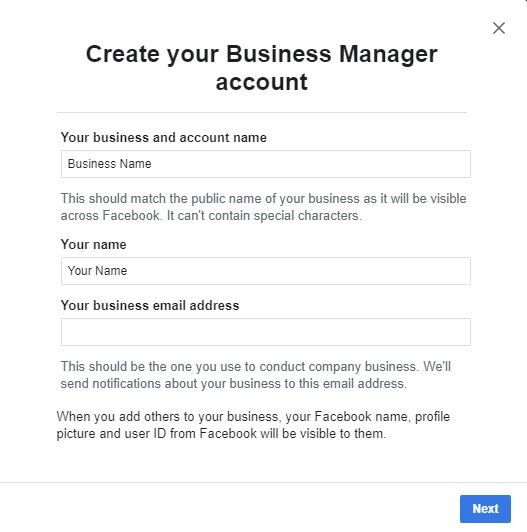 How to set up facebook ad account | Cariad Marketing Limited