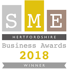SME Hertfordshire Business Awards 2018 Winner – Business Person of The Year