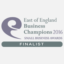East of England Business Champions 2016 – Finalist