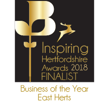 Inspiring Hertfordshire 2018 Finalist – Business of the Year East Herts