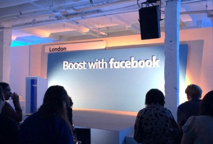 Boost with Facebook