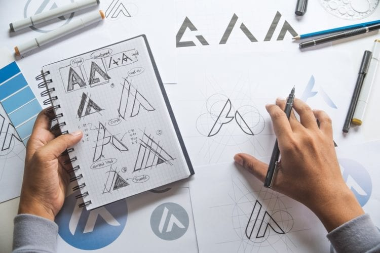 5 stages of logo design