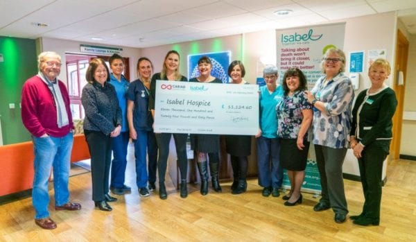 A mammoth fundraising year for Isabel Hospice!