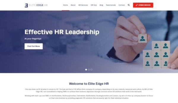 Elite Edge HR Website